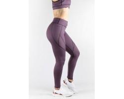 Combat Dollies Mauve Pocket Fitness Leggings