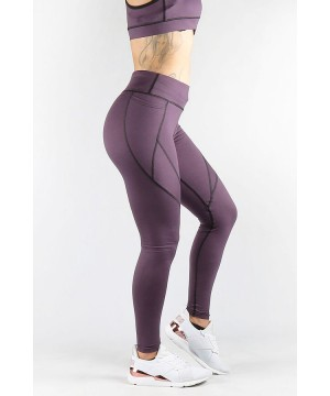 Combat Dollies Mauve Pocket Fitness Leggings