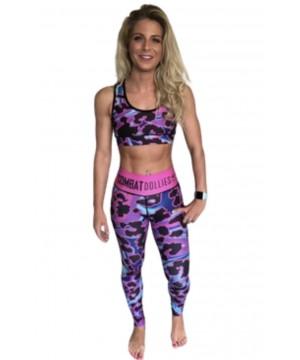 Combat Dollies Oil Splash Fitness Leggings