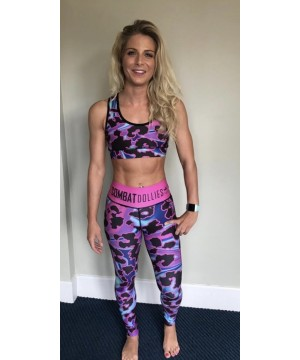 Combat Dollies Oil Splash Fitness Leggings