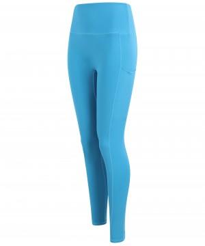 Step n Pump Essentials  Turquoise Blue Core  Pocket Leggings