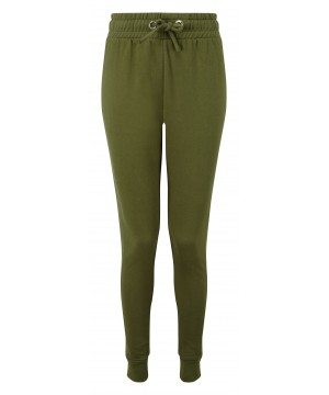 Step n Pump Essentials Slim Fit Olive Tapered Joggers