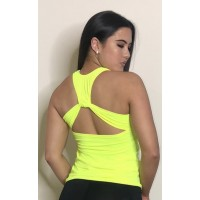 Step n Pump SP297 Loop Detail Vest Top With Support (Multiple Colours to Choose From)