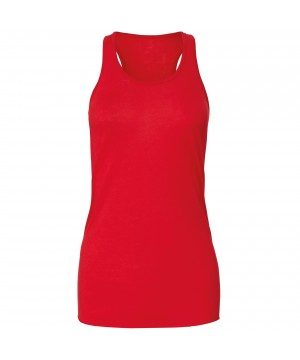 Step n Pump Essentials Plain Red Signature  Flowy Vest Top