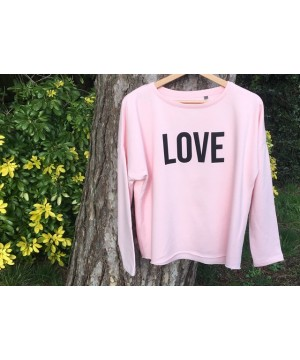 Step n Pump Essentials Luxe Pink-Black LOVE Top