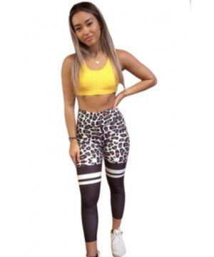 Combat Dollies White Leopard Fitness Leggings