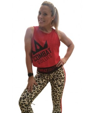 Combat Dollies Red Cropped Vest