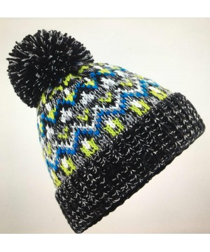 Step n Pump Essentials Liquorice Zing Bobble Beanie