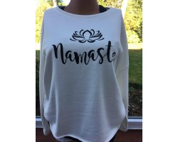 Step n Pump Essentials Luxe Ivory White - Black Namaste Top