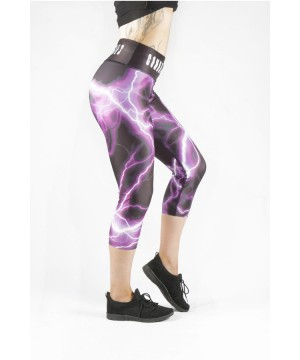 Combat Dollies Purple Lightning Capri