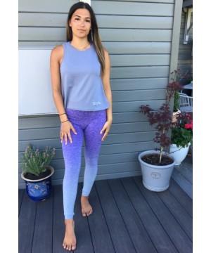 Step n Pump Essentials Dove Grey Organic Cotton  Signature Vest