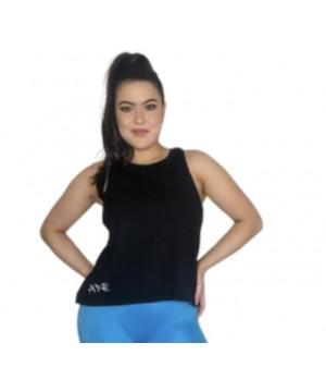 Step n Pump Essentials Black Organic Cotton  Signature Vest