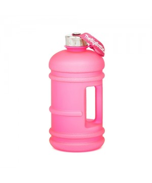 Frosted Pink 2.2L Water Bottle