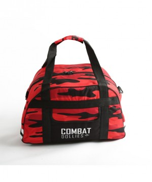 Combat Dollies Red Camo Sports Bag