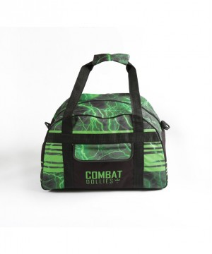 Combat Dollies Green Lightning Sports Bag