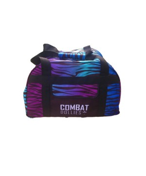 Combat Dollies Blue Zebra Sports Bag