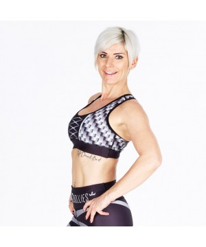Combat Dollies Carbon Steel Sports Bra
