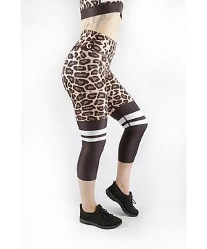 Combat Dollies Leopard Print Fitness Capri