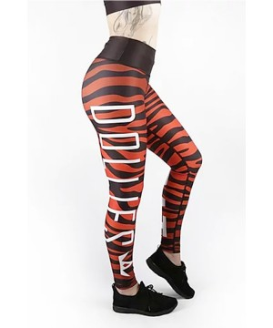 Combat Dollies Red Zebra Fitness Leggings