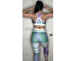 Combat Dollies Smoking Candy Sports Bra