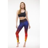 Combat Dollies Exclusive Sunset Fitness Leggings