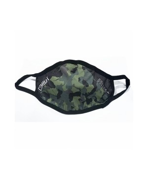 Combat Dollies Khaki Camo Face Mask