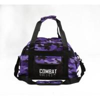 Combat Dollies Purple Camo Sports Bag