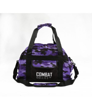 Combat Dollies Purple Camo Sports Bag