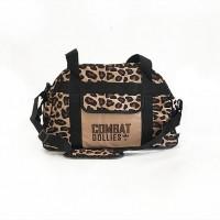 Combat Dollies Leopard Print Sports Bag
