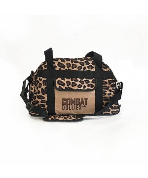 Combat Dollies Leopard Print Sports Bag