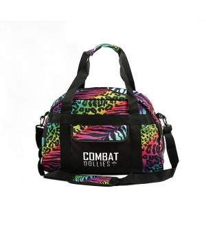 Combat Dollies Multi Print Sports Bag