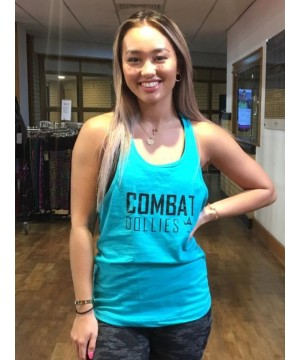 Combat Dollies Mint Strap Back Vest