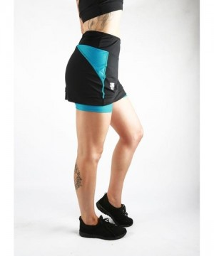 Combat Dollies Training Skort Blue-Black