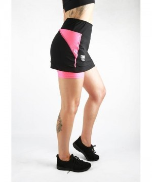Combat Dollies Training Skort Pink-Black