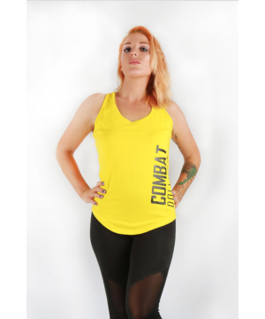 Combat Dollies Yellow Split Back Vest