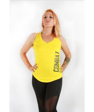 Combat Dollies Yellow Split Back Vest