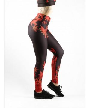 Combat Dollies Maple Leaf Fitness Leggings