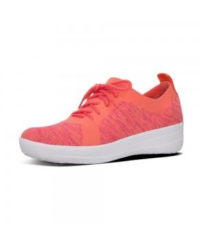 Fitflop F-SPORTY ÜBERKNIT™ Knit Sneakers Coral Fuchsia