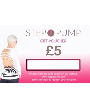 Step n Pump Gift Voucher £5