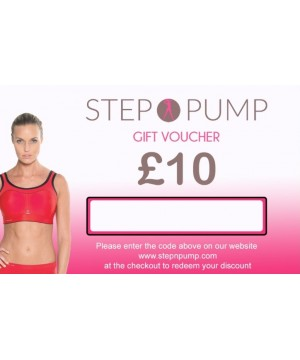 Step n Pump £10 Gift Voucher