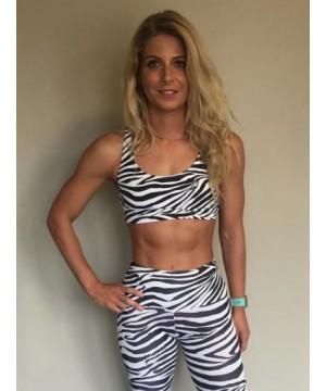 Posto9 Adriana Zebra Racer Back Top