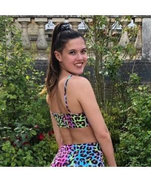 Posto9 Shanti Rainbow Leopard Yoga Bra