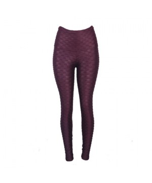 Posto9 Gisele  Matt Copacabana Leggings - Acai Burgundy