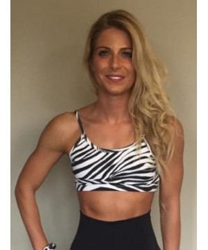 Posto9 Shanti Zebra Yoga Bra