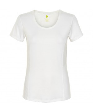 Pure Lime 2755 Basic Short Sleeve Tee - White