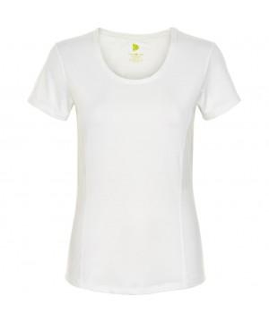 Pure Lime 2755 Basic Short Sleeve Tee - White