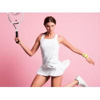 Pure Lime 7245 Serve S Pleated Tennis Dress