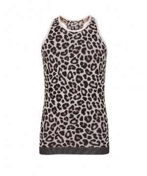 Pure Lime Pure Cheetah Vest Top
