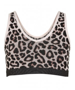 Pure Lime Pure Cheetah Crop Top