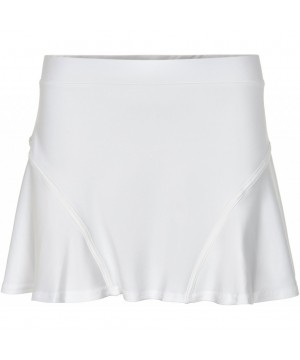 Pure Lime 7226 Flippy Skort - White